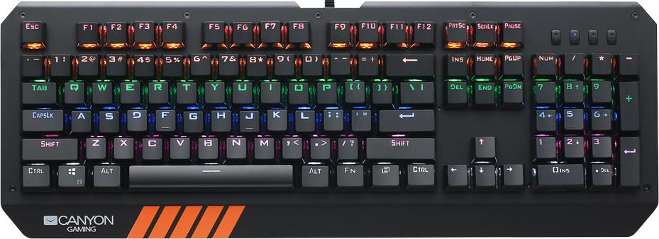 Игровая клавиатура CANYON CND-SKB6-RU