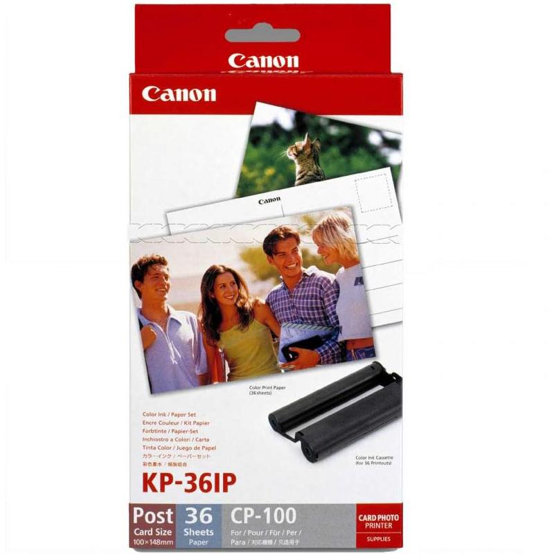 CANON Набор чернил и бумаги SELPHY KP-36IP (7737A001)