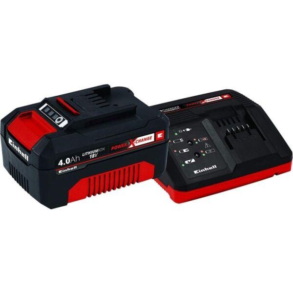 Аккумулятор с зарядным устройством Einhell Power X-Change 4512042 (18В/4 Ah + 18В)