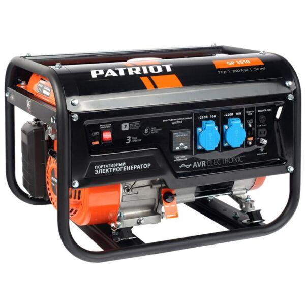 Генератор Patriot GP 3510