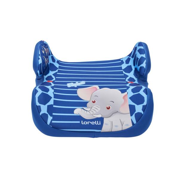Автокресло Lorelli Topo Comfort Blue Elephant
