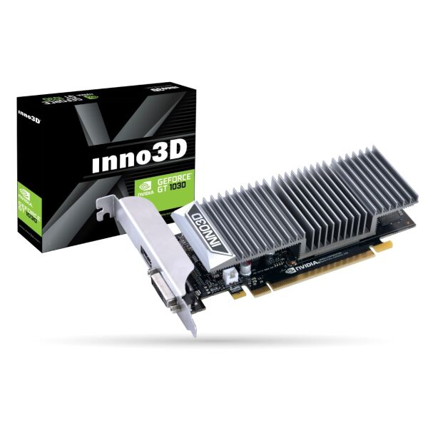 Видеокарта Inno3D GeForce GT 1030 2GB GDDR5 N1030-1SDV-E5BL