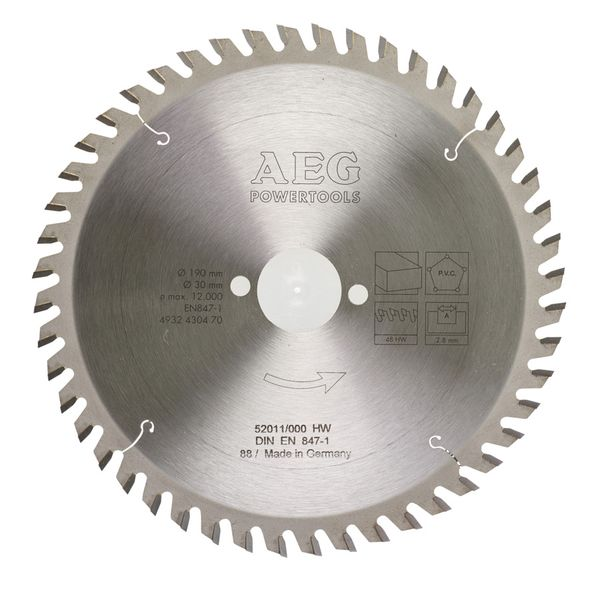 Диск пильный AEG Powertools 4932430470