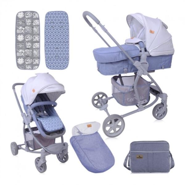 Детская коляска LORELLI Aster 2в1 Grey
