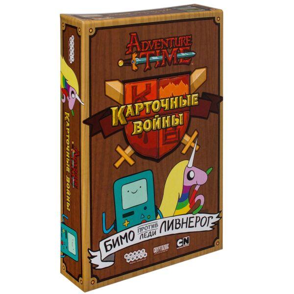 Настольная игра Hobby World Время приключений: Карточные войны. Бимо против леди Ливнерог