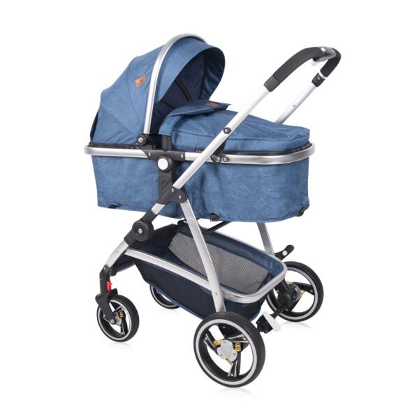 Детская коляска LORELLI Sola 2в1 (синий)