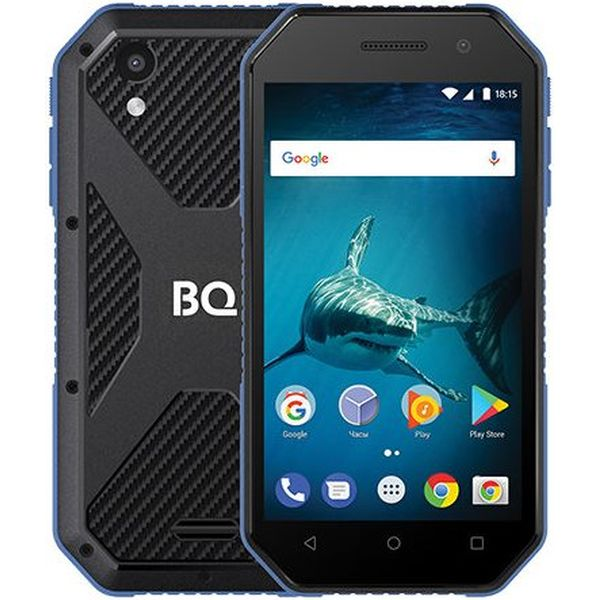 Смартфон BQ-Mobile BQ-4077 Shark Mini (синий)