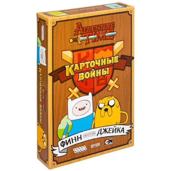 Настольная игра Hobby World Время приключений: Карточные войны. Финн против Джейка