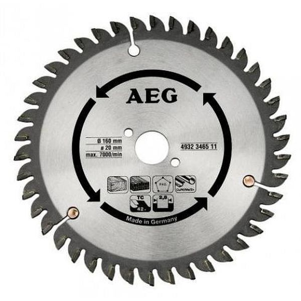 Диск пильный AEG Powertools 4932248233