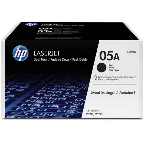 Картридж HP 05A 2-pack CE505A