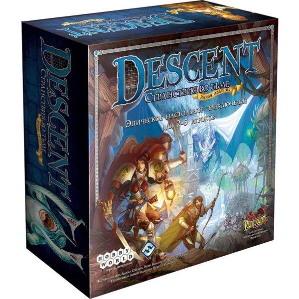 Настольная игра Hobby World Descent. Странствия во Тьме (вторая редакция)