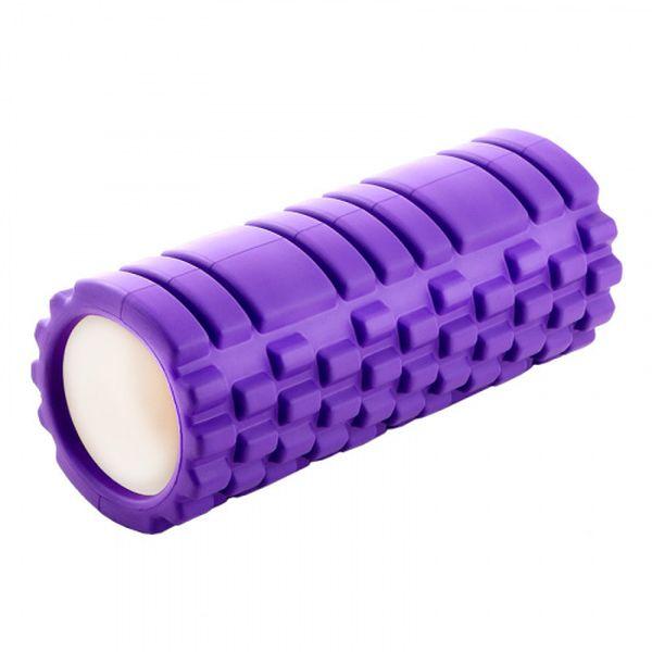 Валик для фитнеса Bradex ТУБА (SF 0336) фиолетовый