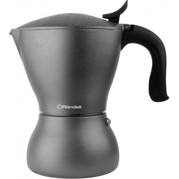 Гейзерная кофеварка RONDЕLL Escurion Grey  RDА-1117