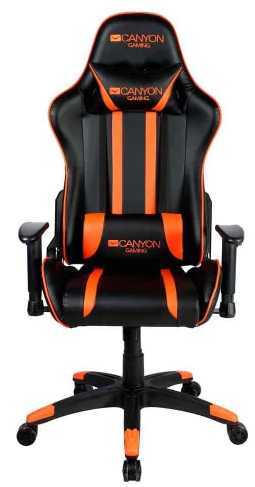 Игровое кресло CANYON Fobos CND-SGCH3 (черный/оранжевый)