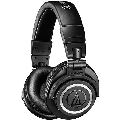 AUDIO-TECHNICA ATH-M50X-BK (ATH-M50X-BK)