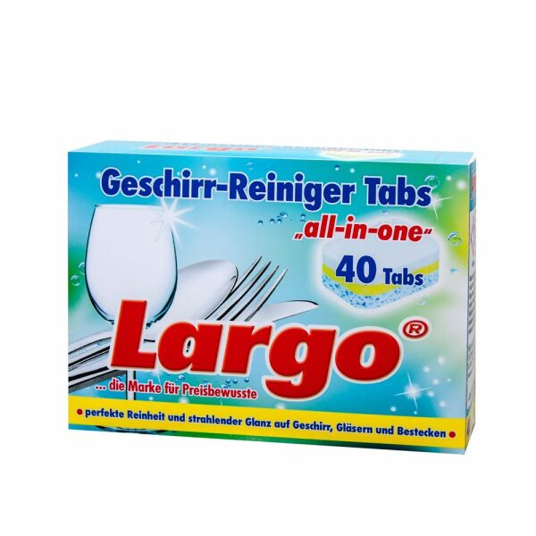 60115 Таблетках для ПММ LARGO All in one 40шт