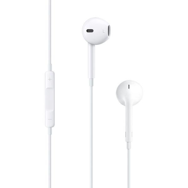 Наушники с микрофоном Apple EarPods с разъёмом 3.5 мм