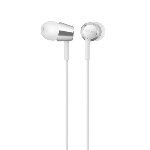 Наушники-вкладыши SONY MDR-EX155 (Белые)
