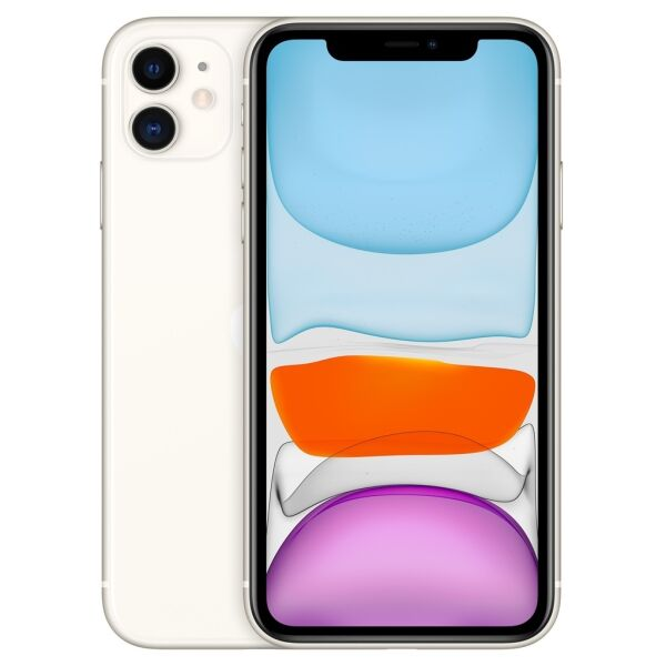 Смартфон APPLE iPhone 11 128GB White (MHDJ3FS/A)