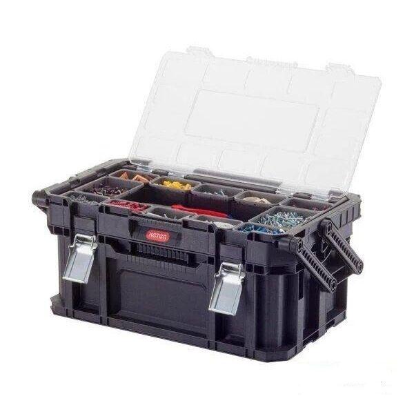 Ящик для инструментов Keter Connect Canti Tool Box Euro Pro (черный)
