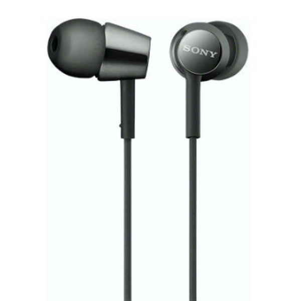 Наушники-вкладыши SONY MDR-EX155 (Черные)
