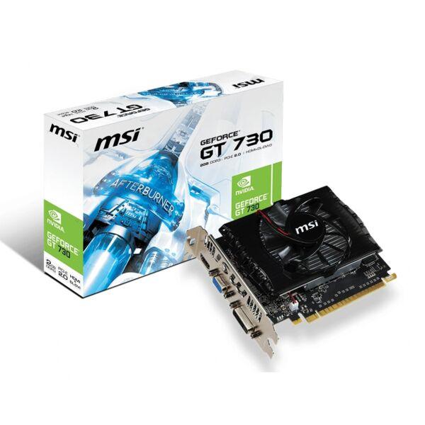 Видеокарта MSI GeForce GT 730 2GB DDR3 N730-2GD3V2