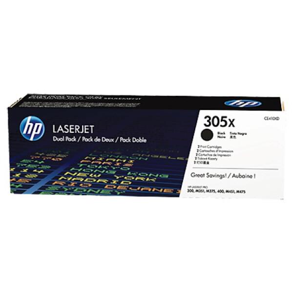 Картридж HP 305X 2-pack CE410XD