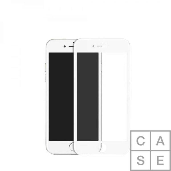 Защитное стекло CASE 3D для Apple iPhone 6/6S Plus (белый)