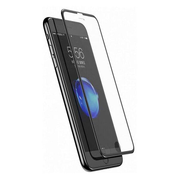 Защитное стекло CASE 3D Rubber для Apple iPhone 6/6s/7/8 (черный)