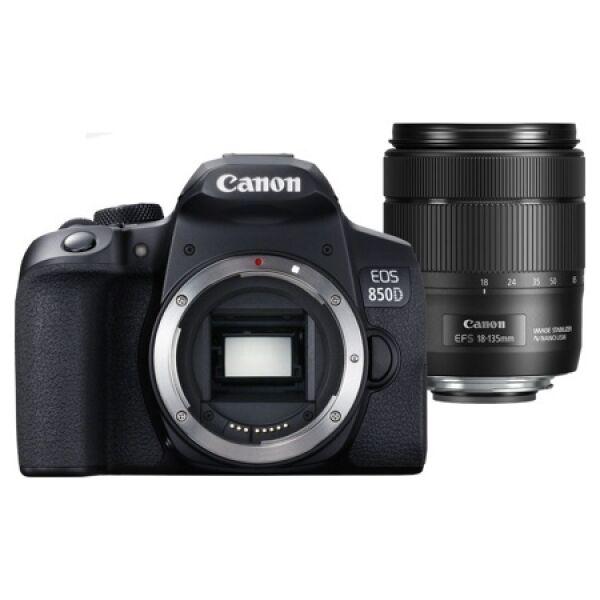 Зеркальный фотоаппарат Canon EOS 850D Kit 18-135mm f/3.5-5.6 IS USM