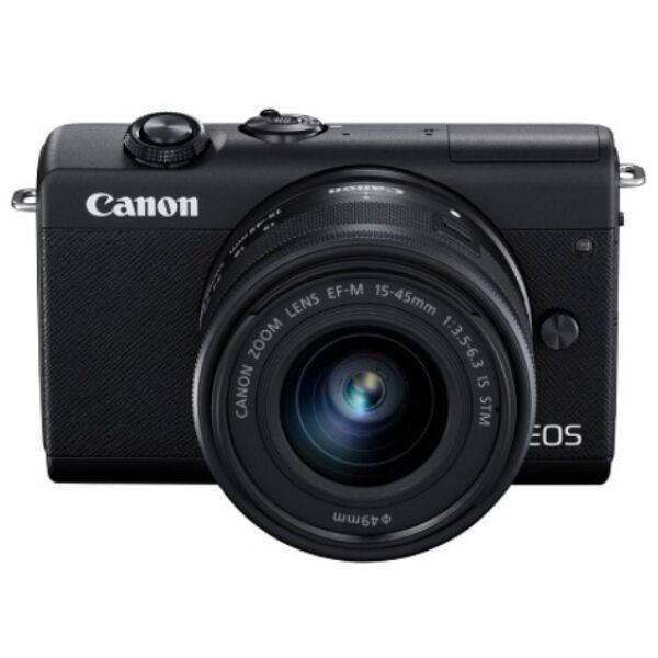 Беззеркальный фотоаппарат Canon EOS M200 Kit 15-45mm (черный)