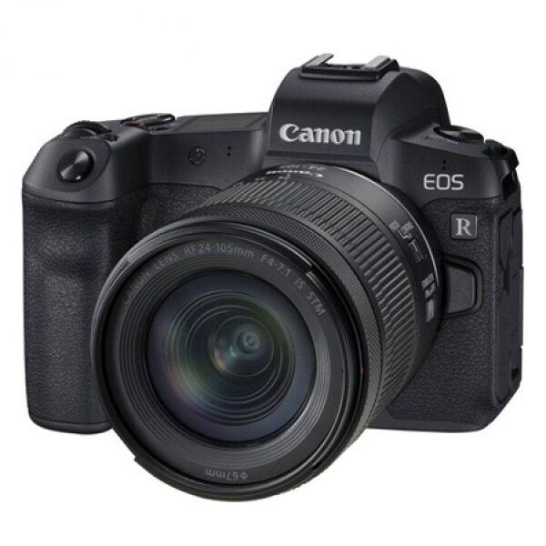 Беззеркальный фотоаппарат Canon EOS R Kit RF 24-105mm f/4-7.1 IS STM