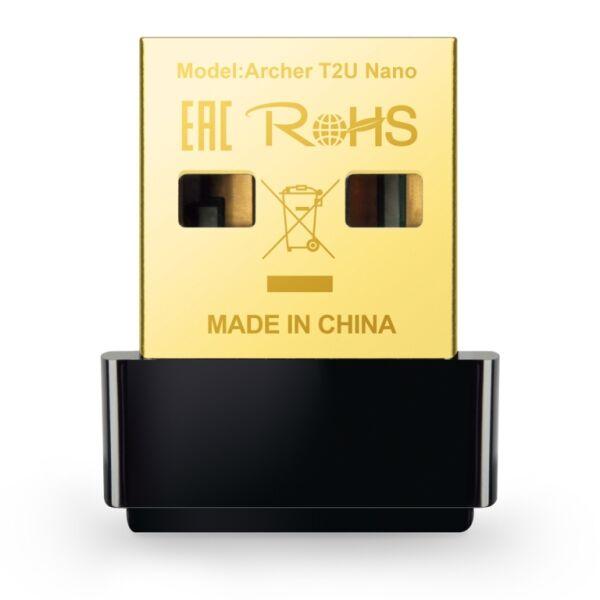 Беспроводной адаптер TP-Link Archer T2U NANO