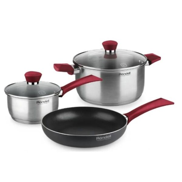 Набор посуды Rondell Strike RDS-1217