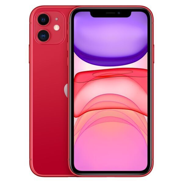 Смартфон APPLE iPhone 11 64GB (PRODUCT)RED (MHDD3RM/A)